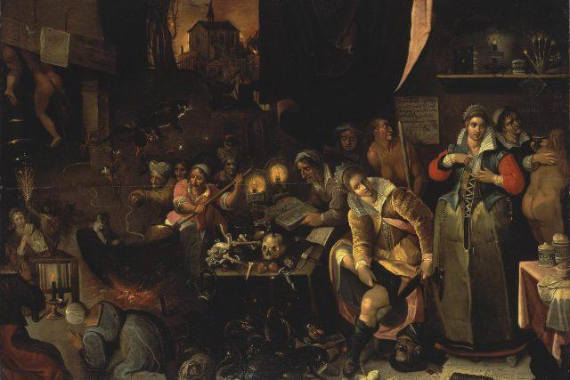 Čarodějnická kuchyně,  1606 | foto: Frans Francken,  Wikimedia Commons,  CC0 1.0