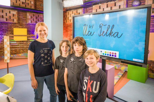 Česká televize spouští projekt UčíTelka