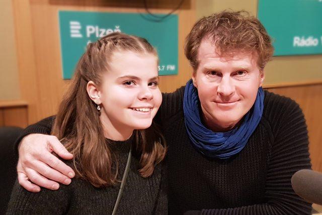 Petr Batěk a Kristýna Baťková