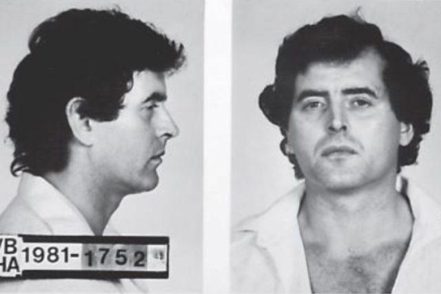 Vrah Jiří Doležal na policejním snímku