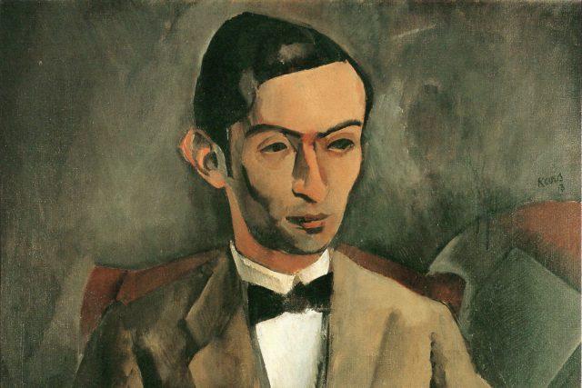 Georges Kars: Podobizna Otty Gutfreunda  (1913) | foto: Georges Kars,  Wikimedia Commons,  Národní galerie v Praze,  CC0 1.0
