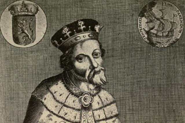 Václav IV. na fiktivním portrétu z doby baroka   foto: Hermann von der Hardt,  Wikimedia Commons,  CC0 1.0