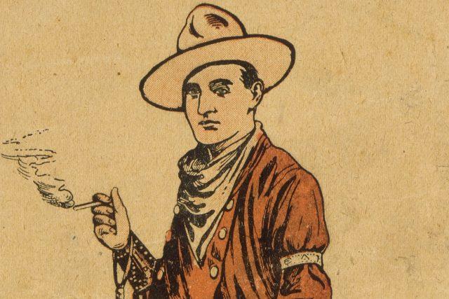 Barton Bros Circus and Wild West (výřez z programu, 1914)