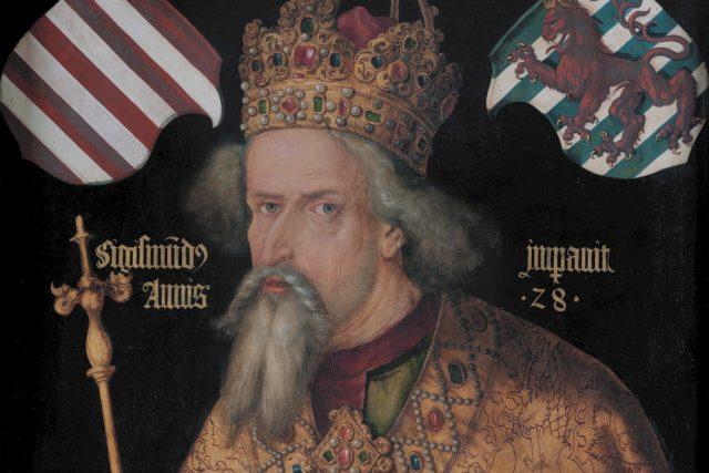 Albrecht Dürer: Zikmund Lucemburský | foto: Albercht Dürer,  Wikimedia Commons,  CC0 1.0