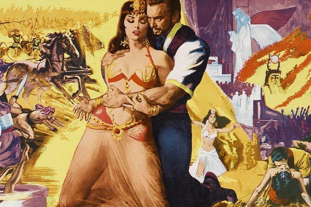 Gina Lollobrigida a Yul Brynner ve filmu Šalamoun a královna ze Sáby (1959)