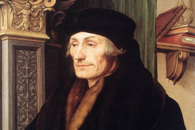 Erasmus Rotterdamský | foto: Hans Holbein ml.,  Wikimedia Commons,  Web Gallery of Art,  CC0 1.0