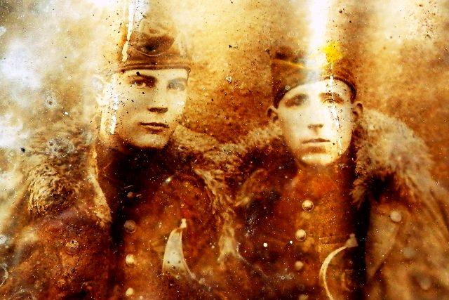 Vojáci československé jazdecké eskadróny (husaři) okolo roku 1930