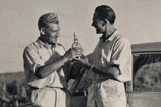 Jiří Hanzelka a Miroslav Zikmund