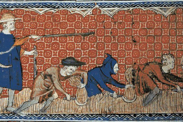 Rychtář a nevolníci | foto: Wikimedia Commons,  CC0 1.0