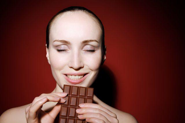 Čokoláda a pocity štěstí (ilustrační foto)