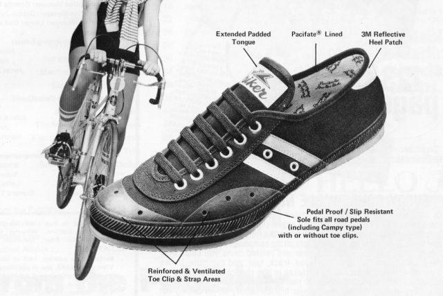 Baťova cyklistická obuv. Made in USA | foto:  Pete  (fixedgear),  Flickr,  CC BY-NC-SA 2.0
