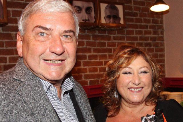 Miroslav Donutil a Halina Pawlowská