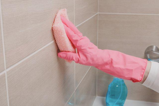 Test časopisu dTest se zaměřil pouze na koupelnové čističe určené především na dlaždice,  vany a umyvadla. Skleněné plochy v koupelně potřebují speciální péči   foto: Profimedia