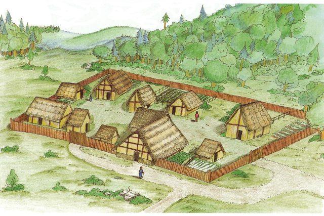 Keltské oppidum | foto: Dolní Břežany