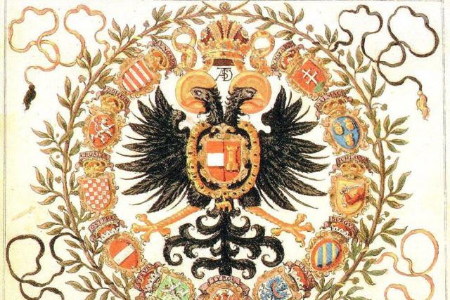 Znak císaře Maxmiliána II. Habsburského | foto: Wikipedia,  CC0 1.0