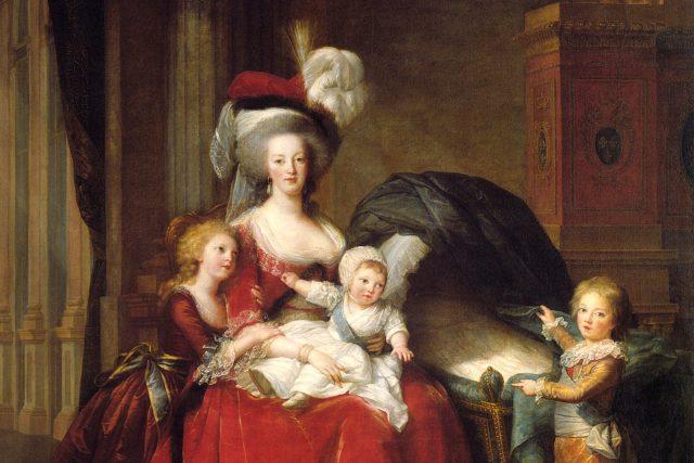 Marie Antoinetta s dětmi od Elisabeth Le Brun v roce 1787 | foto: Élisabeth Louise Vigée Le Brun,  Wikimedia Commons,  CC0 1.0