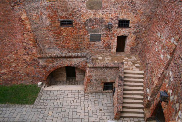 Špilberk – vstup do kasemat | foto: Wikimedia Commons,  CC0 1.0