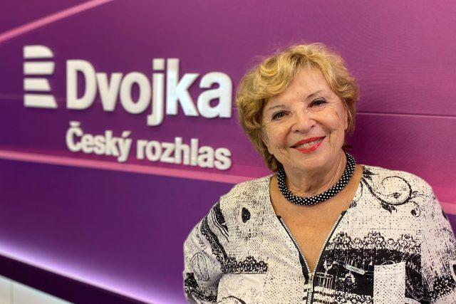 Libuše Švormová   foto: Vláďa Slezák,  Český rozhlas Dvojka