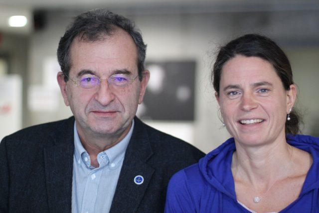 Cyril Höschl s dcerou
