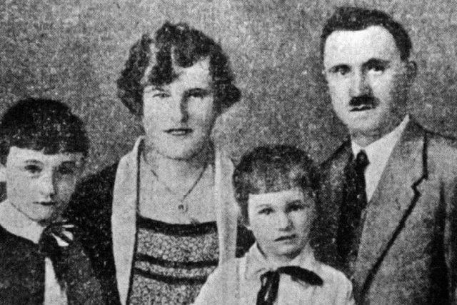 Rodina Maierova | foto: Muzeum Policie ČR