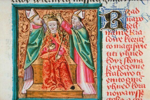 Korunovace Karla IV. | foto: Europeana Collections,  CC BY-NC-ND 3.0