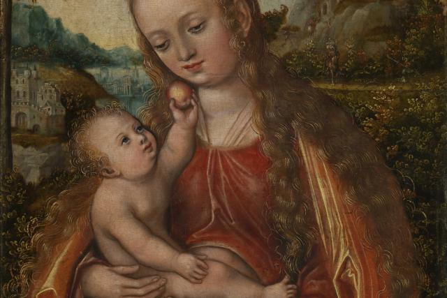 Lucas Cranach: Madona s dítětem
