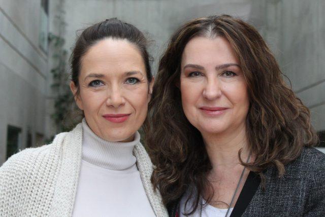 Irena Pavlásková a Tereza Kostková