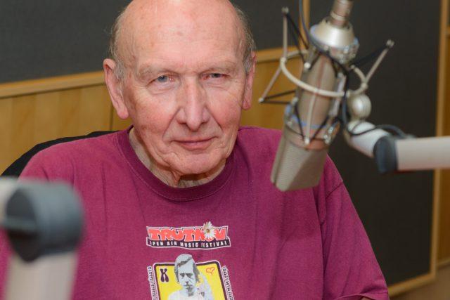 Jiří Černý při natáčení Stříbrného větru
