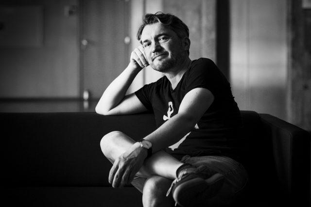 Miloš Urban   foto: Tomáš Vodňanský,  Český rozhlas