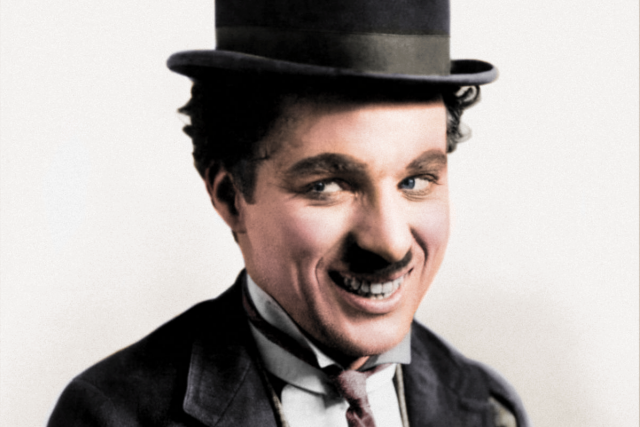 Charlie Chaplin jako Tulák