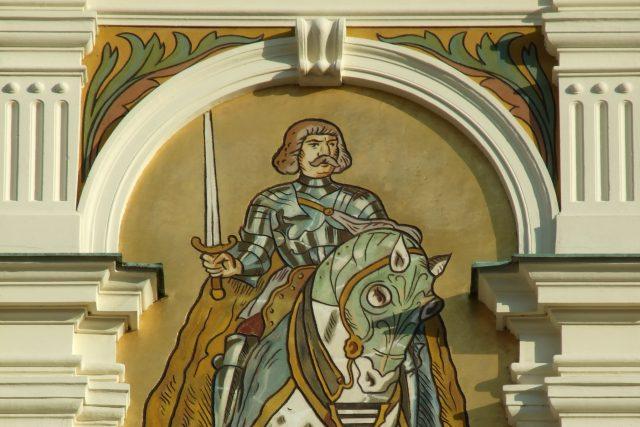 Jiří z Poděbrad na náchodské radnici