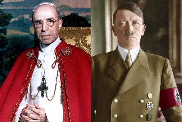 Papež Pius XII. a Adolf Hitler