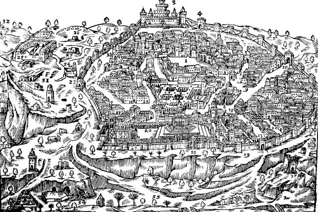Jeruzalém | foto: Jan Willenberg,  Wikimedia Commons,  CC0 1.0
