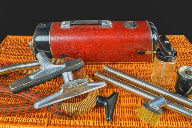 Vysavač značky Electrolux  (model z roku 1942) | foto: Shutterstock