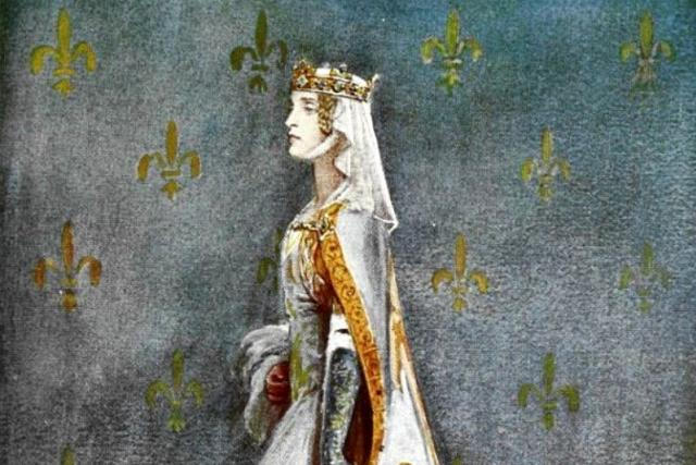 Anna Česká,  manželka Richarda II. | foto: Percy Anderson,  Wikimedia Commons,  CC0 1.0