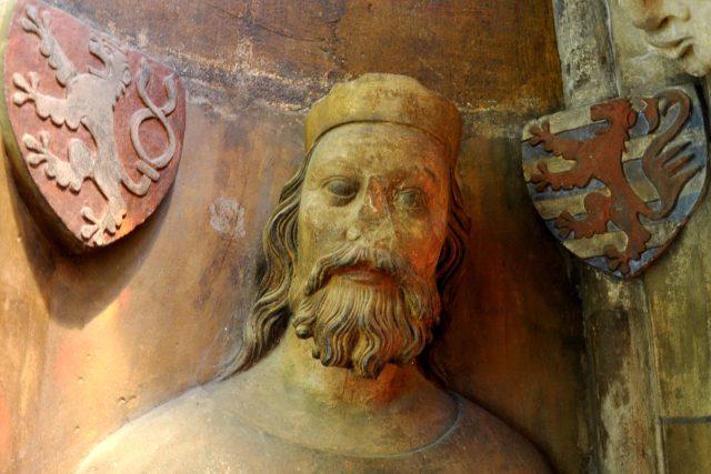 Busta Jana Lucemburského z katedrály sv. Víta