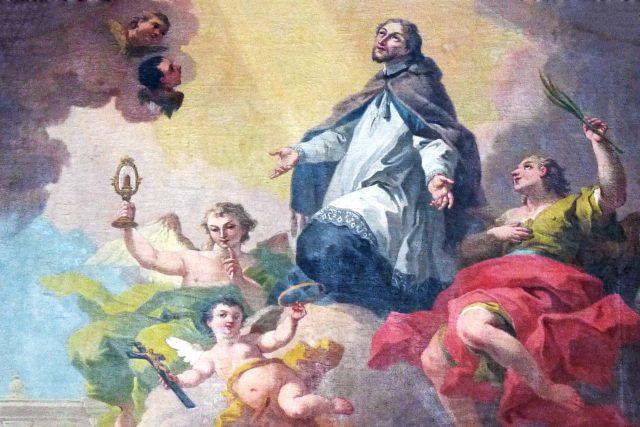 Bartolomeo Altomonte: Svatý Jan Nepomucký | foto: Bartolomeo Altomonte,  Wolfgang Sauber,  Wikimedia Commons,  CC BY-SA 4.0
