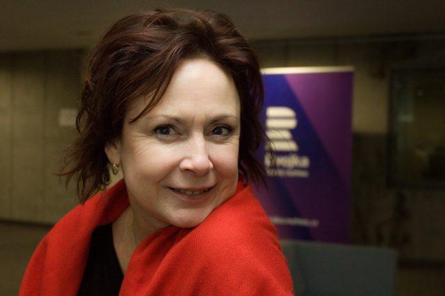 Herečka a dabérka Ilona Svobodová