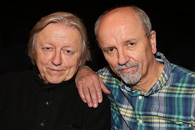Václav Neckář a Jan Neckář