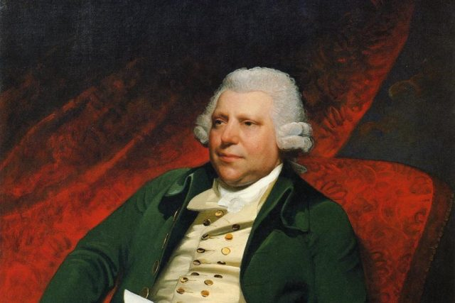 Richard Arkwright | foto: Mather Brown,  Wikimedia Commons,  CC0 1.0