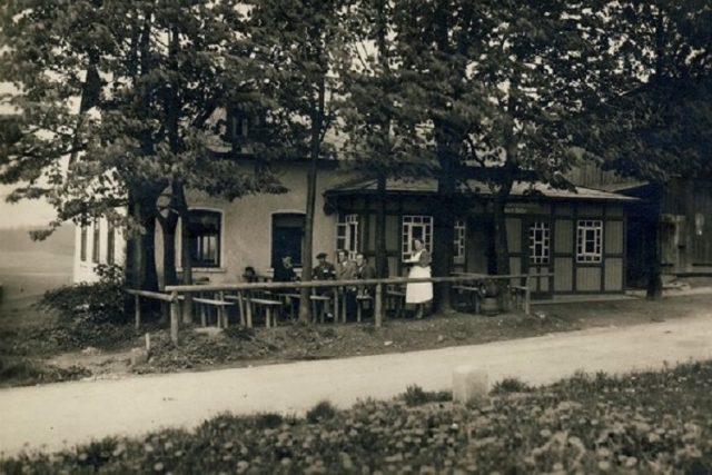 Müllerův hostinec Na krásné vyhlídce,  kde byl Paulus před svou smrtí | foto:  archiv Emila Hrušky