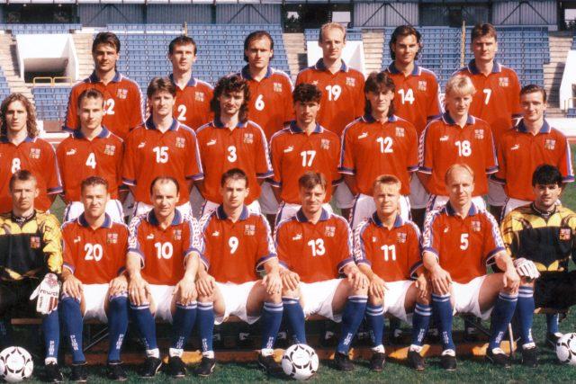 Česká fotbalová reprezentace v roce 1996 | foto: Profimedia