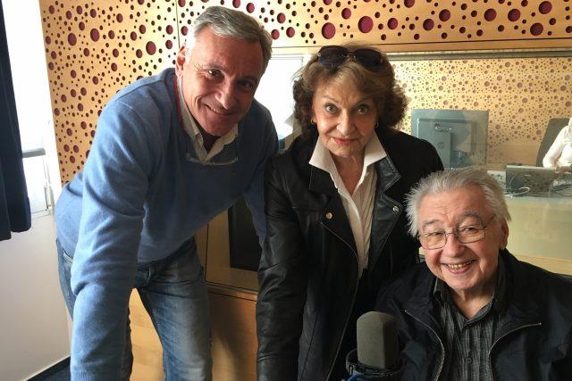 Jan Čenský, Yvetta Simonová a Josef Zíma