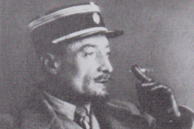 František Kupka v legionářské uniformě