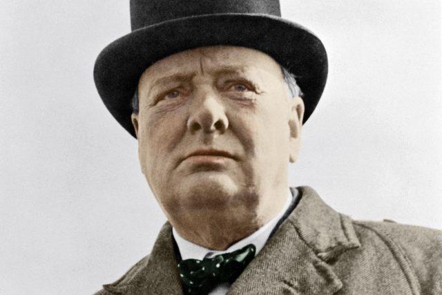 Sir Winston Churchill v roce 1942