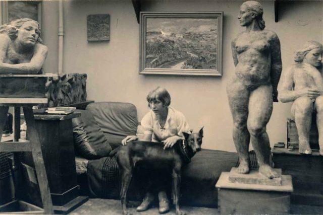 Sochařka a výtvarnice Mary Duras