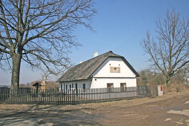 Rodný domek bratranců Veverkových v Rybitví | foto: Wikimedia Commons,  CC0 1.0
