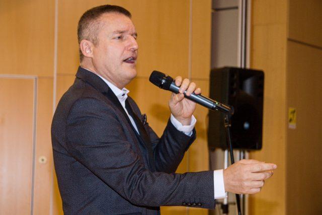 Pobavil a zazpíval báječný Vladimír Hron   foto: Jaroslav Hoření,  Český rozhlas