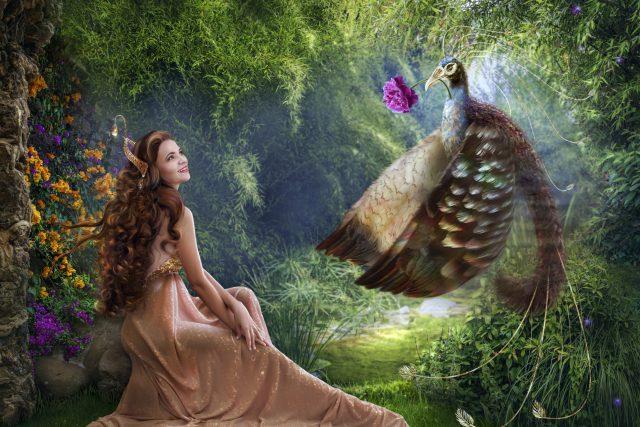 Princezna a páv