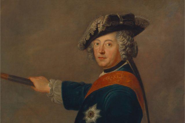 Friedrich II. Pruský jako vojevůdce   foto: Wikimedia Commons,  CC0 1.0